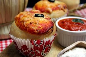 Pizza Muffin – Ricetta con e senza Bimby
