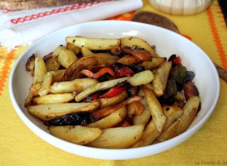 Peperoni e patate alla calabrese – Pipi e Patati fritti