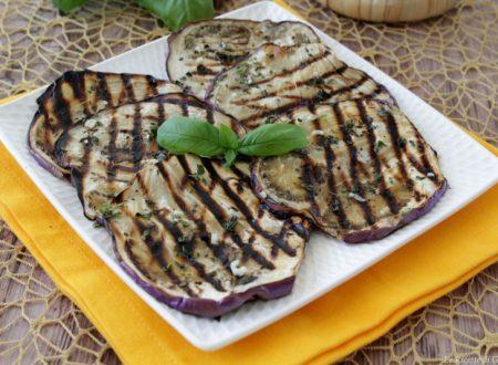 Melanzane grigliate condite alla Siciliana