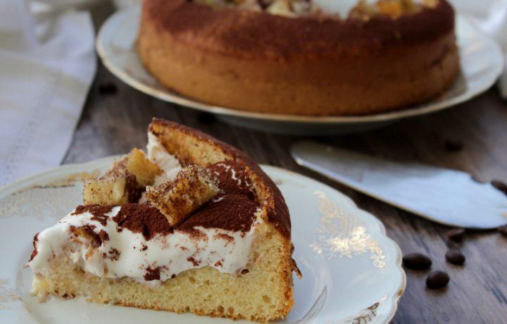 Torta Delizia al caffè con crema al latte – Anche Bimby