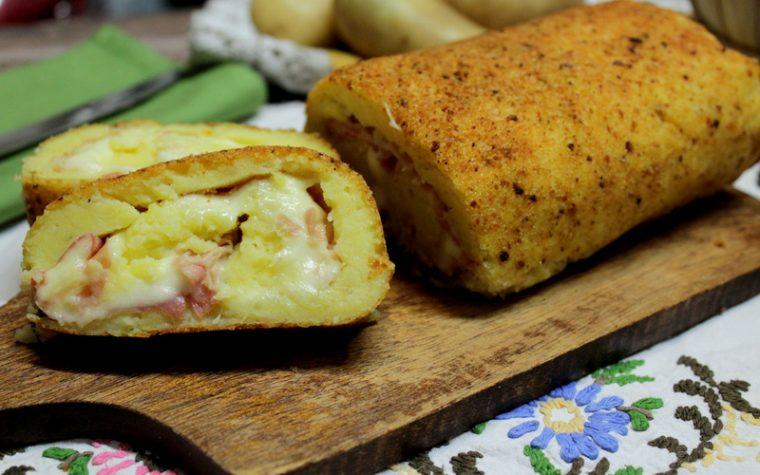 Rotolo di patate filante – Ricetta facile