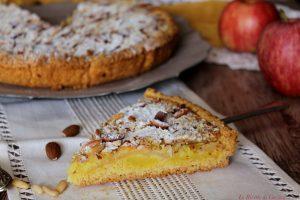 Crostata di mele e crema con crumble di mandorle – Anche Bimby