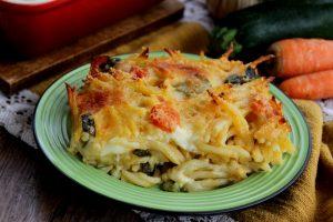 Pasta al forno con verdure e formaggio – Gratinata