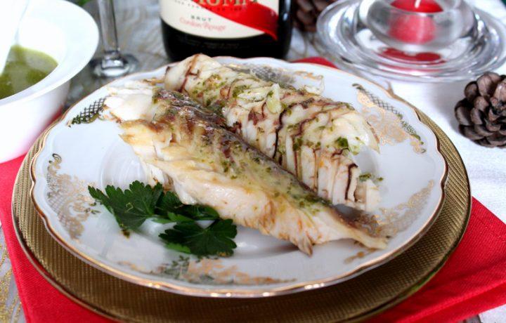 Dentice in crosta di sale – Pesce al sale