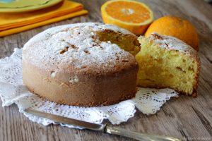 Torta Nua all'arancia con crema – Ricetta anche Bimby