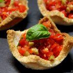Cestini di pane al pomodoro - Antipasto facile