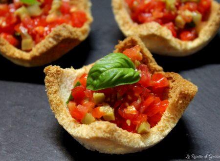 Cestini di pane al pomodoro – Antipasto facile