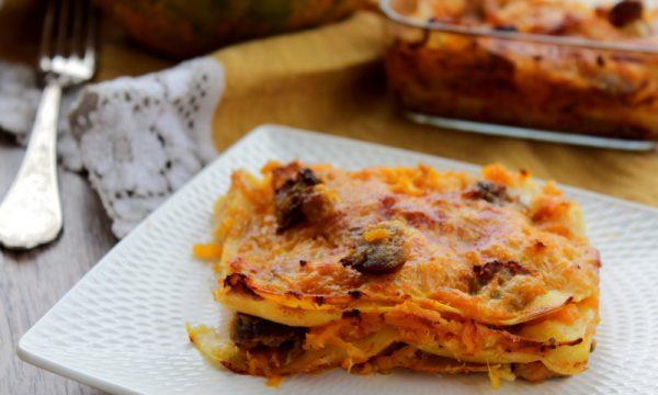 Lasagne zucca e salsiccia senza besciamella – Anche Bimby