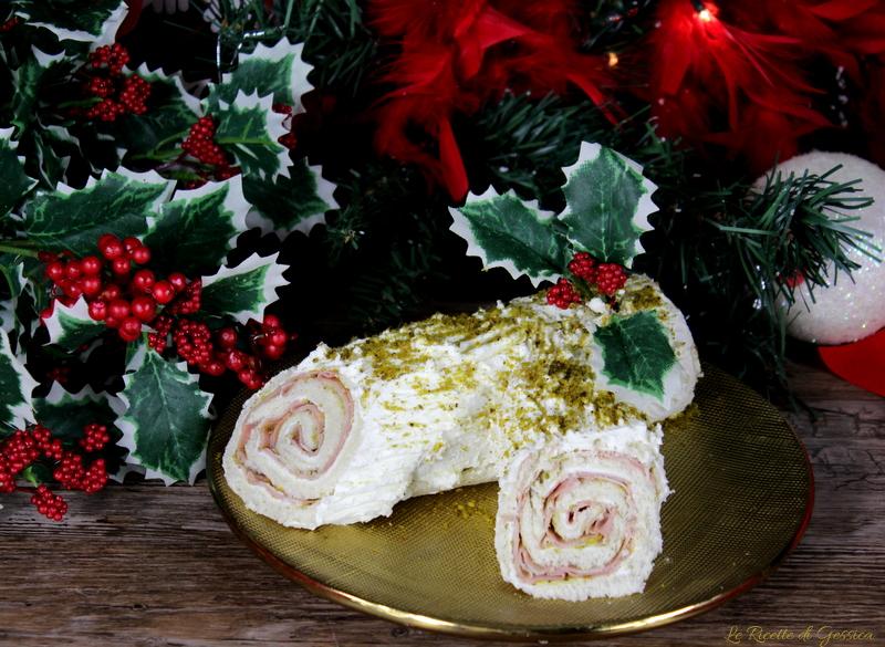 Tronco Di Natale Youtube.Tronchetto Di Natale Salato Con Mortadella E Pistacchi Antipasto