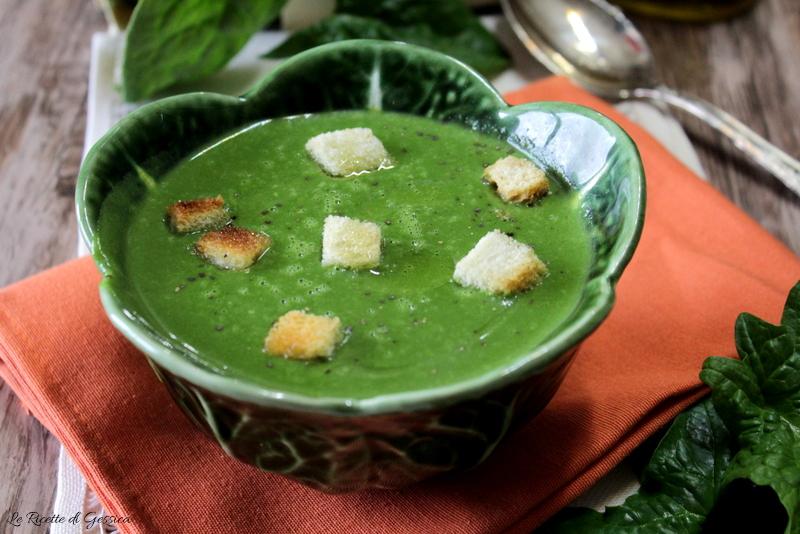 vellutata di spinaci e patate anche bimby