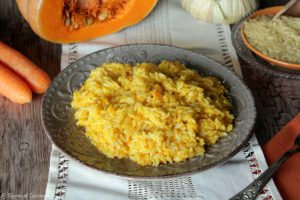 Risotto zucca e carote – Anche Bimby