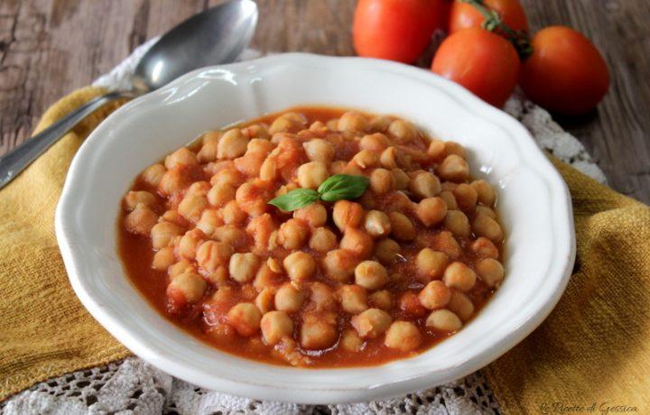 Zuppa di ceci al pomodoro – Anche Bimby