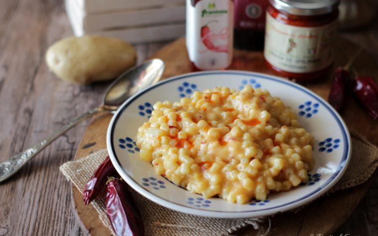 Pasta patate Nduja e provola – Ricetta Calabrese