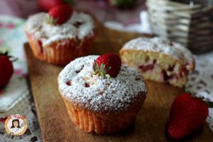 Muffin alle fragole  soffici – Anche Bimby
