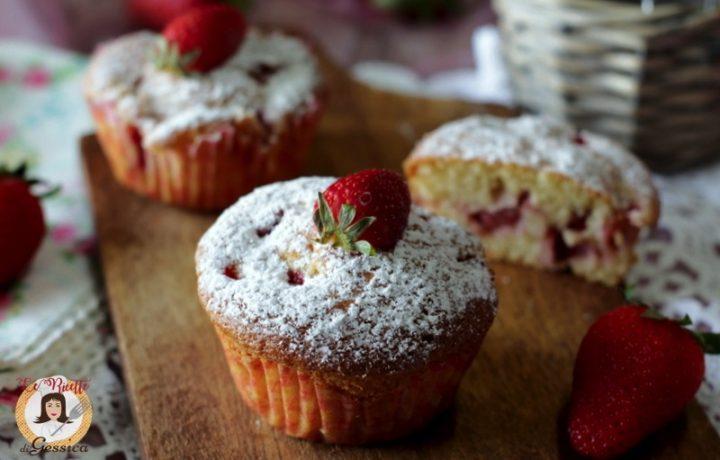 Muffin alle fragole  soffici – Anche Bimby