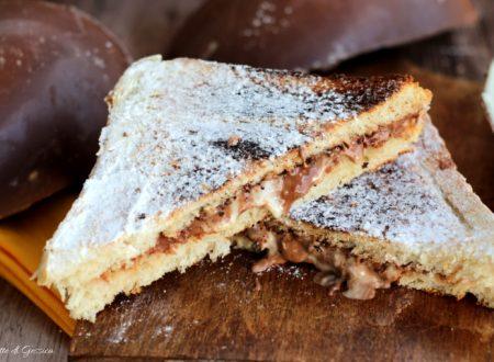 Toast al cioccolato ripieno di Uova di Pasqua – Dolce facile e veloce