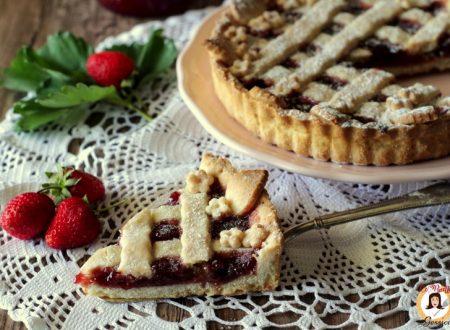 Crostata senza burro alla marmellata – Anche Bimby