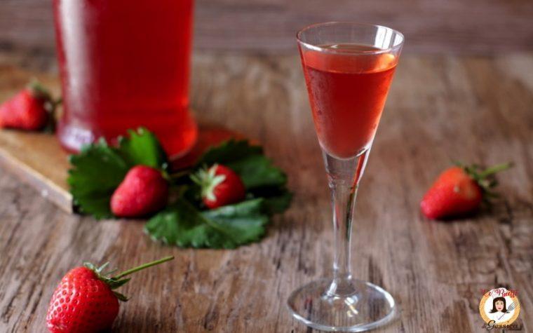 Liquore alle fragole FRAGOLINO – Anche Bimby