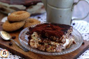 Tiramisù con biscotti secchi pastorizzato- Anche Bimby –