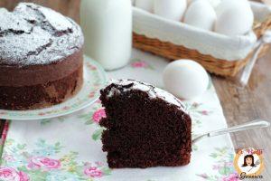 Torta al cioccolato semplice e soffice – Anche Bimby