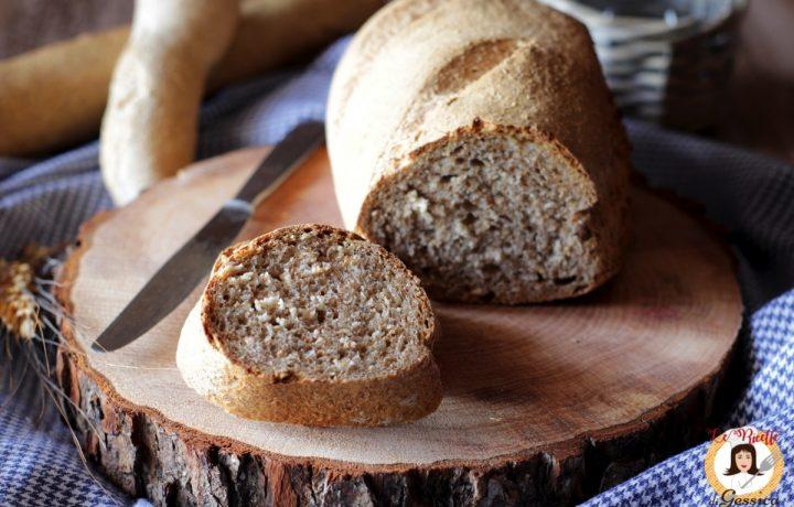 Pane integrale veloce e croccante – Anche Bimby