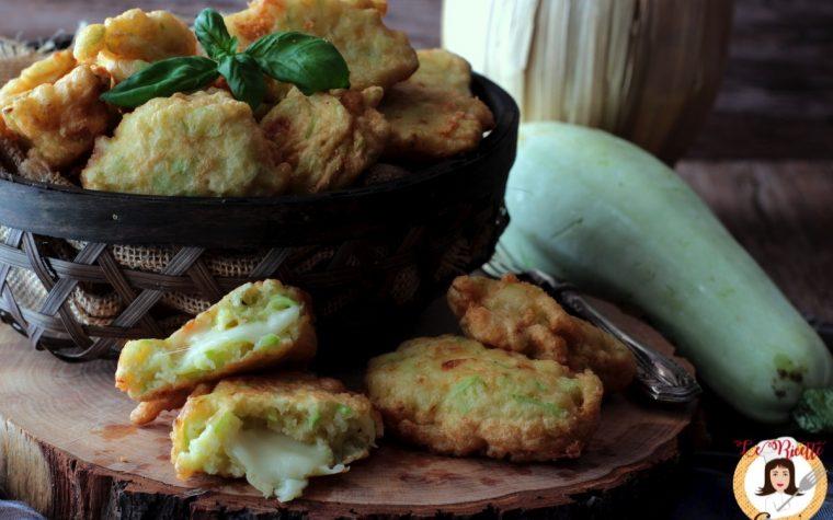Frittelle di zucchina – Con video ricetta