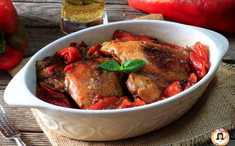 Pollo alla birra con peperoni in padella – Anche Bimby