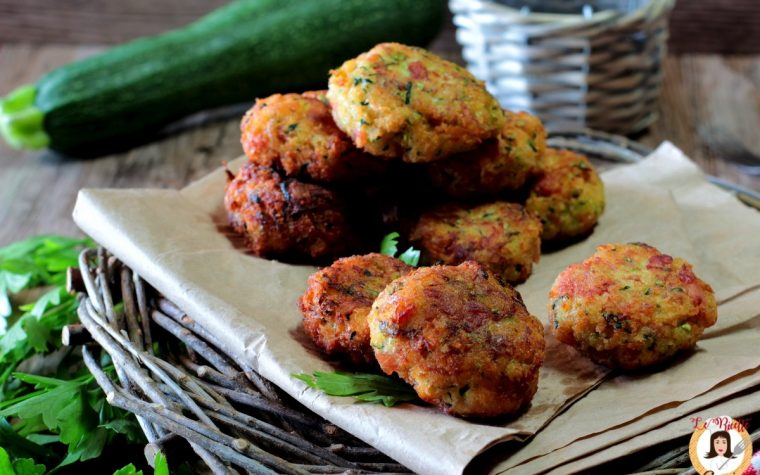 Polpette di zucchine crude  - Ricetta veloce