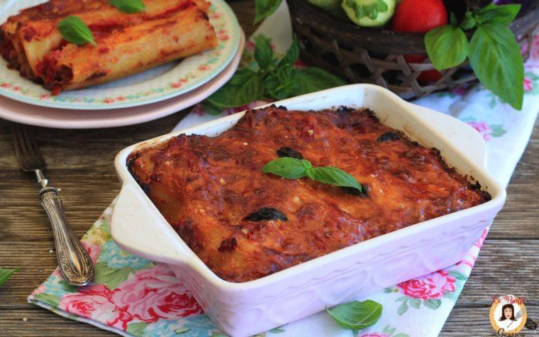 Cannelloni di verdure – Senza Besciamella