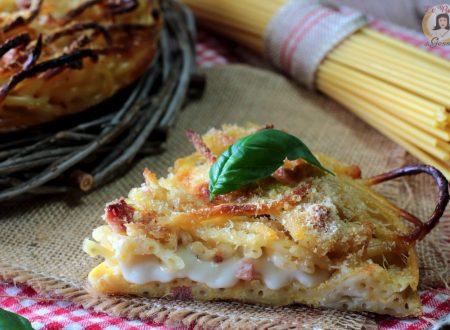 Frittata di pasta al forno – Spaghetti, bucatini, penne