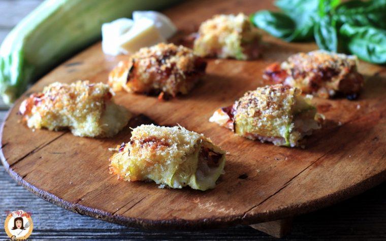 Involtini di zucchine crude cotti al forno – Video ricetta