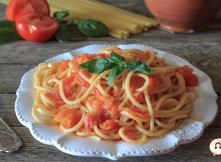 Spaghetti alla Picchio Pacchio o Carrettiera – Ricetta Siciliana