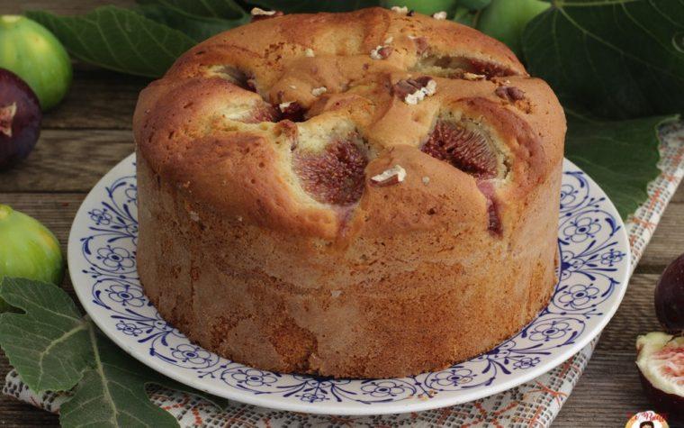 Torta 7 vasetti con fichi e noci – Anche Bimby