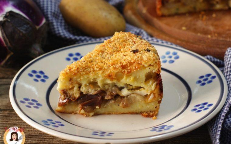 Tortino di patate e melanzane – Con video ricetta