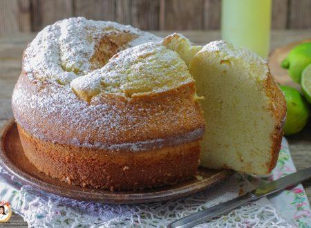 Ciambella al limoncello altissima – Anche Bimby