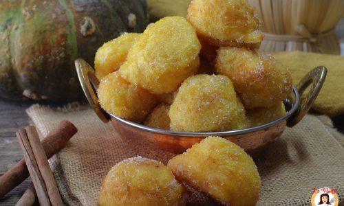 Frittelle dolci di zucca - Anche Bimby - Sfinci di zucca