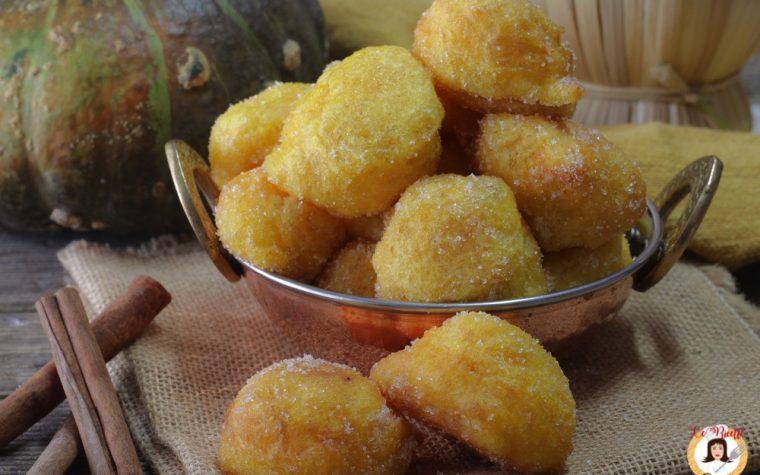 Frittelle dolci di zucca – Anche Bimby – Sfinci di zucca