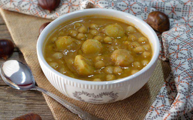 Zuppa di ceci e castagne – Anche Bimby