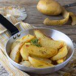 Patate in padella tipo arrosto- Croccanti senza forno