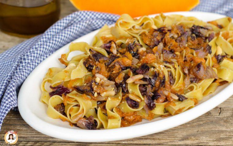 Pasta zucca e radicchio – Anche Bimby