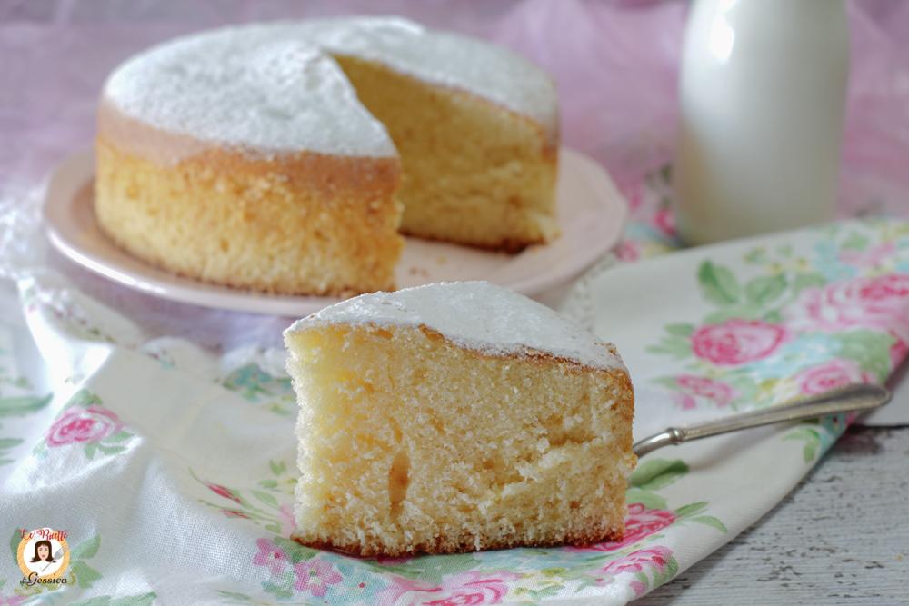Torte Con Bimby.Torta Al Latte Caldo Soffice Anche Bimby Senza Burro