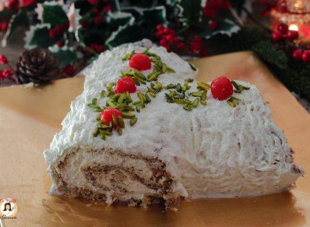 Tronchetto di pandoro al tiramisù – Ricetta di Natale