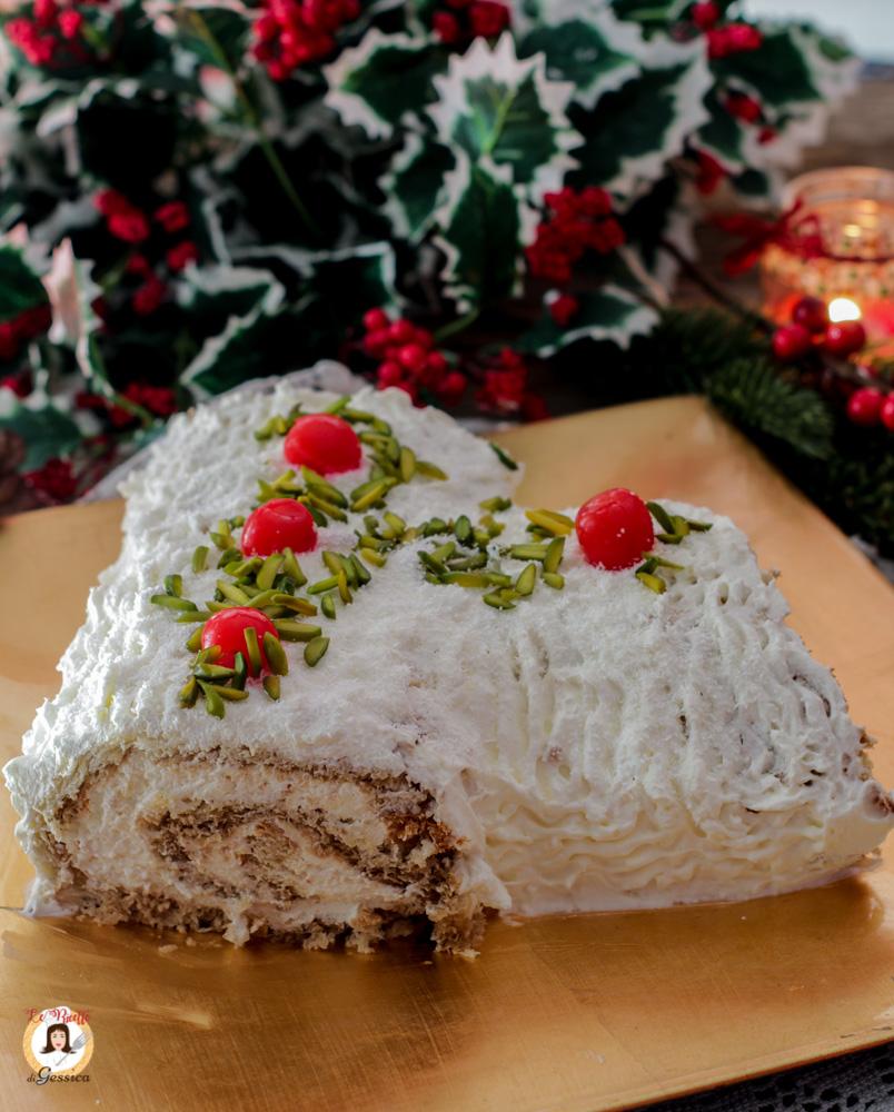 Tronchetto Di Natale Con Pandoro.Tronchetto Di Pandoro Al Tiramisu Ricetta Di Natale