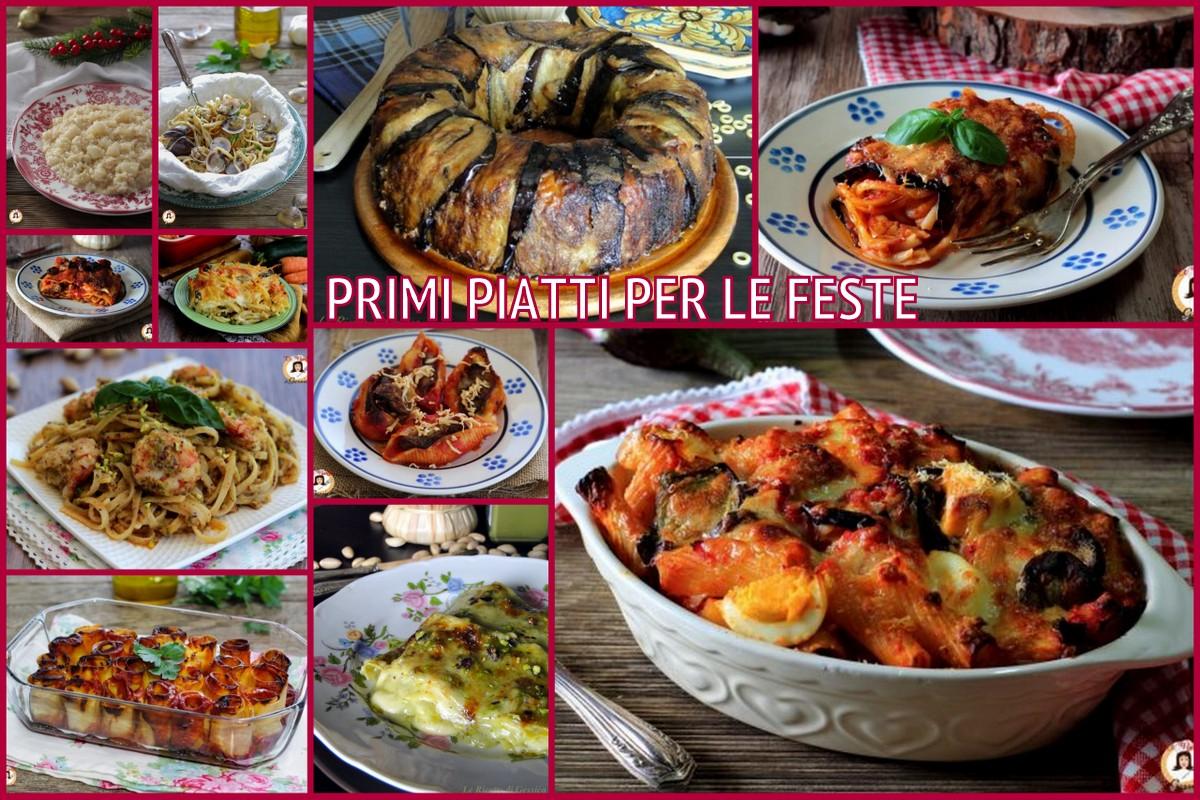 Primi piatti natalizi raccolta ricette facili per le for Primi piatti ricette bimby