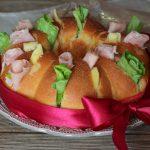 Corona di pane farcita - Anche Bimby
