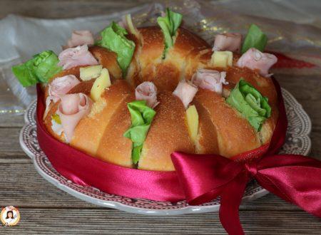 Corona di pane farcita – Anche Bimby