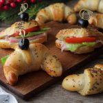 Cornetti salati da farcire per buffet o antipasto - Anche Bimby