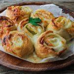 Girelle di pasta sfoglia con salmone e zucchine - Con videoricetta