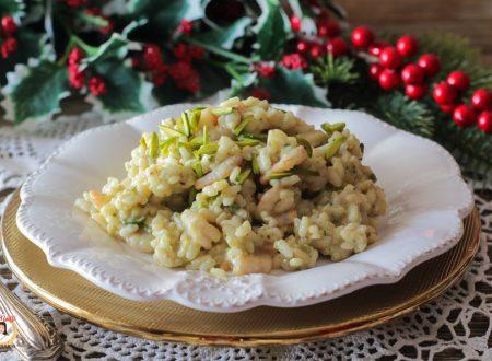Risotto con gamberetti e pistacchi