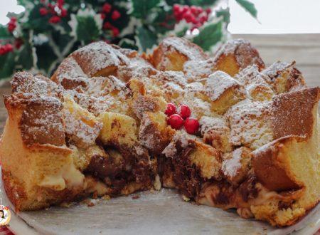 Sbriciolata di pandoro con Nutella e crema – Anche Bimby